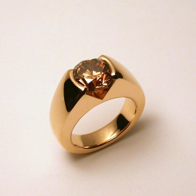 Ring Gelbgold  Diamant